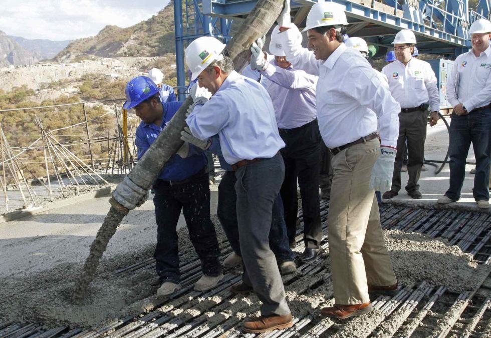México, puente colgante más alto del mundo