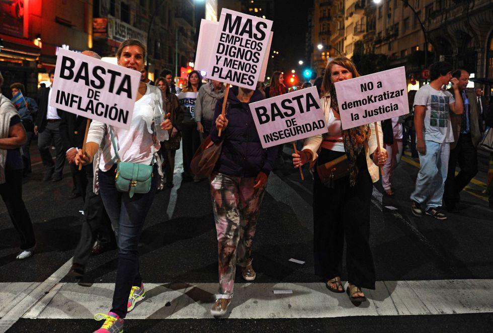 marcha contra edl gobierno